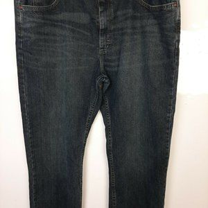 Lee Blue Jeans Relaxed Fit 40x30 Dark, Wash